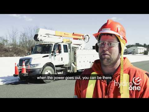 Hydro One Crews Respond to Nor'easter in March 2018
