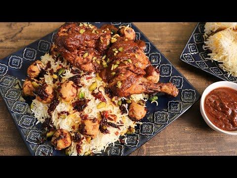 Berry Pulao - Iranian Pulao Recipe - The Bombay Chef - Varun Inamdar