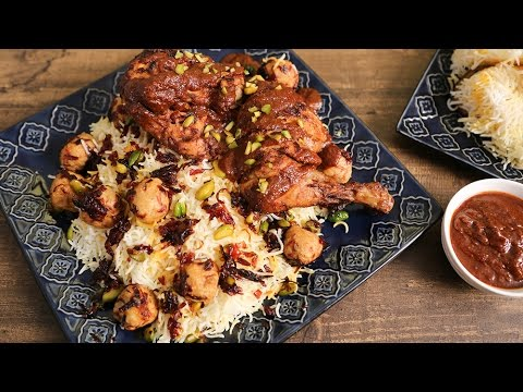Berry Pulao - Iranian Pulao Recipe - The Bombay Chef - Varun Inamdar