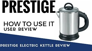 prestige electric kettle review