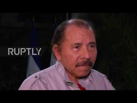 Nicaragua: Incumbent Daniel Ortega casts vote in presidential elections