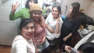 With my Friends.Lilibeth Hong South Korea