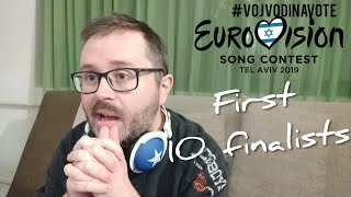 Eurovision 2019 reaction / First 10 finalists