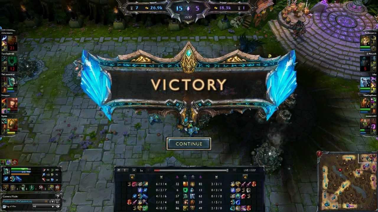 Zerg rush - Lol New Strategy Zerg Rush