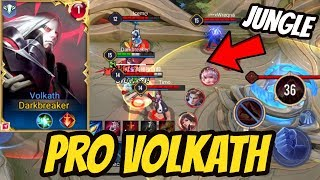 TOP 1 VOLKATH JUNGLE GAMEPLAY - INSANE JUNGLE HERO!  | AoV | 傳說對決 | RoV | Liên Quân Mobile Video