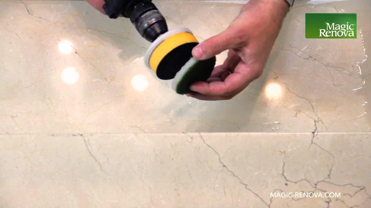 Como pulir y abrillantar una de escalera de marmol con un for Como limpiar marmol oscuro