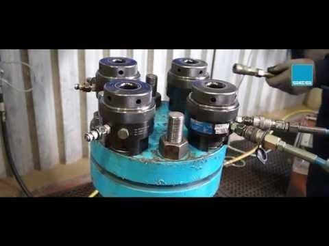 SES' Hydraulic Bolt Tensioning Tool