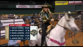 2020 NFR Barrel Racing Round 7