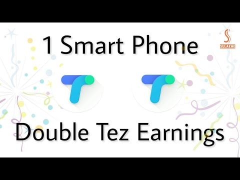 Use Two Tez Accounts in One Mobile | Mi Phone |
