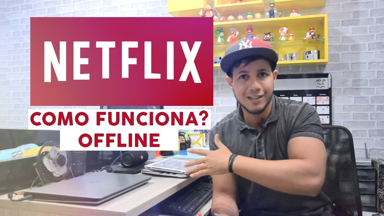 Como assistir offline NETFLIX (Ipad, Android e Iphone)