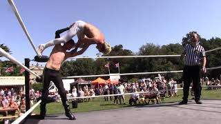 Kieron Lacey vs Oli Peace finish
