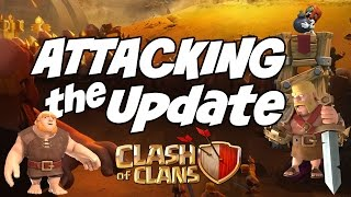 Clash of Clans ATTACKING the NEW UPDATE! Q&A