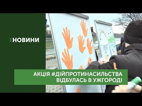 """Акція """"16 днів проти насильства"""" завершилася в Ужгороді"""