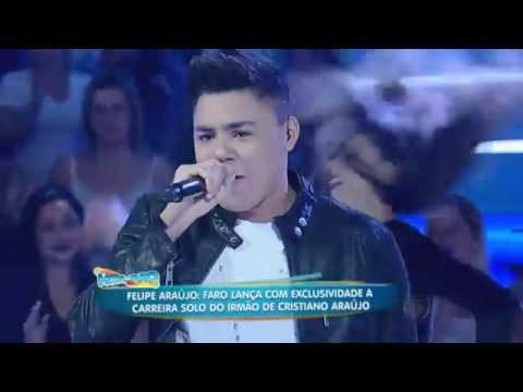 Irmão de Cristiano Araújo canta Bora Beber e lança carreira solo no palco do Faro