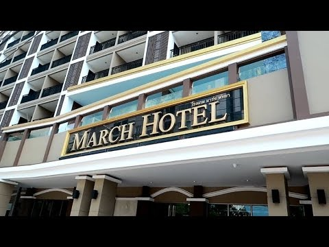 Review The March Hotel Pattaya, Great Location For Soi Baukhao ! Vlog 350