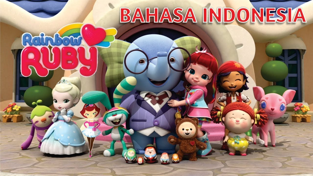 Lagu Rainbow Ruby Bahasa Indonesia Lirik Rainbow Ruby Song