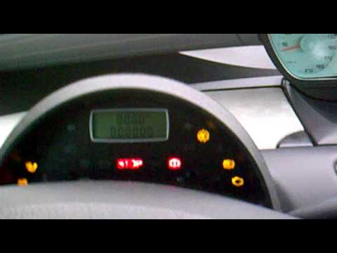 Peugeot 807 electrical problem - YouTube