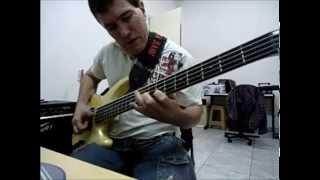 Slam the Clown do grande baixista Alain Caron por Boka Bass