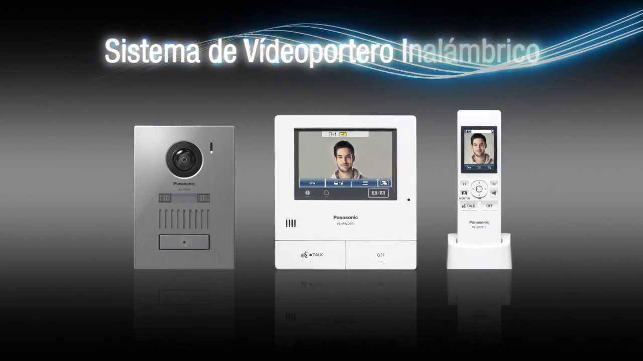 Videoportero panasonic vl swd501 youtube - Video portero inalambrico ...
