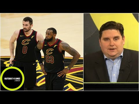 What Kevin Love told Brian Windhorst about playing with LeBron James | Outside The Lines