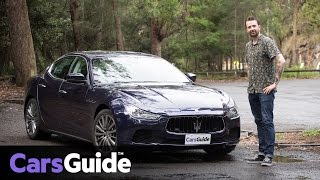 Maserati Ghibli 2017 review | road test video