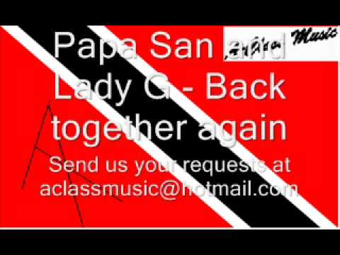 Papa San and Lady G - Back together again