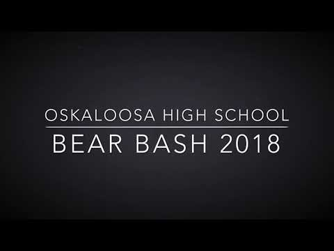 Oskaloosa High School Male Dancers at Bear Bash 2018