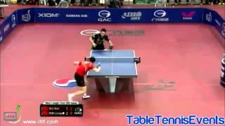 Ma Long Vs Xu Xin: Final [Korea Open 2013]