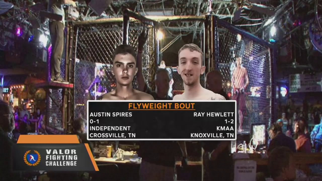 VFC 70 Ray Hewlett vs Austin Spires