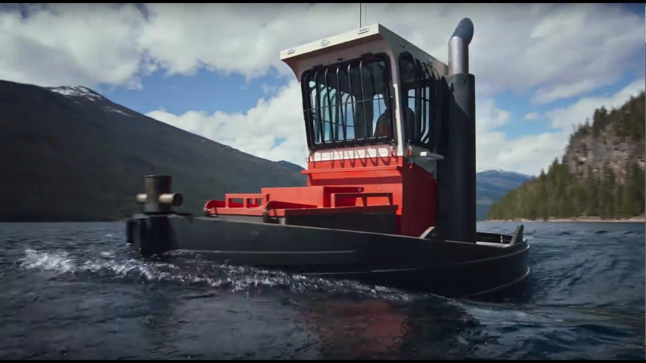 Drop Marine Dozer Workboat