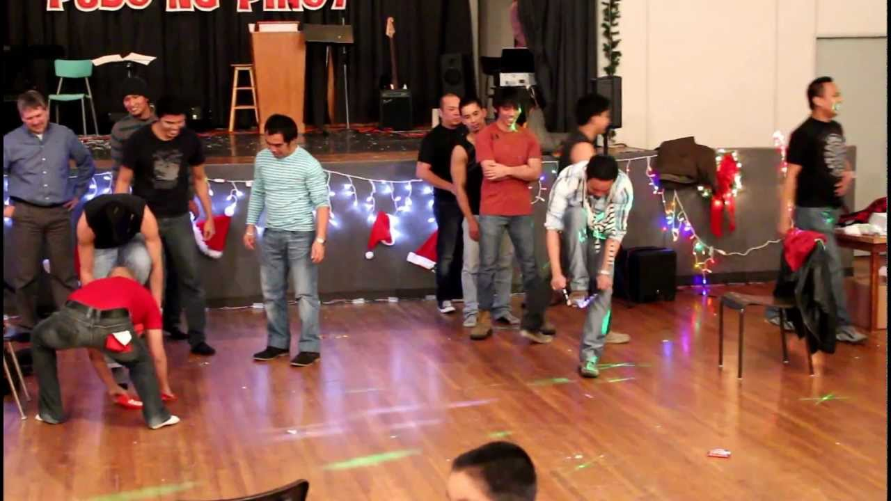 st brieux filipino christmas party parlor games 2012 youtube
