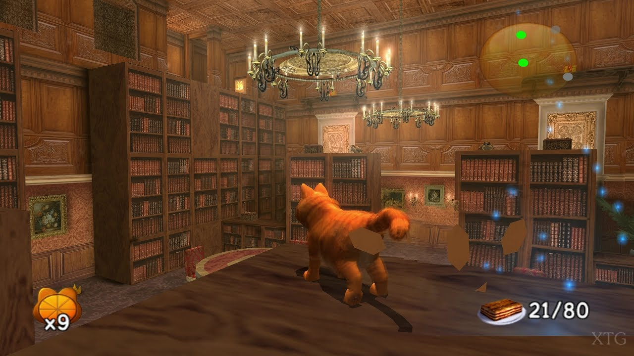 Garfield A Tail Of Two Kitties Ps2 Gameplay Hd Pcsx2 Youtube