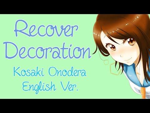 """ENGLISH """"Recover Decoration"""" Nisekoi (Akane Sasu Sora)"""