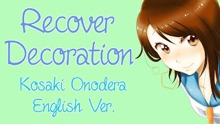 "ENGLISH ""Recover Decoration"" Nisekoi (Akane Sasu Sora)"