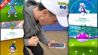A WAVE OF NEW POKÉMON ARE HERE! Froslass, Rampardos, BONSLY & More in Pokémon GO!