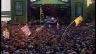 "Midnight Oil, ""Beds Are Burning"" (live at the Hultsfred festival 1994)"