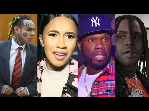 Cardi B, 50 Cent, Chief Keef, Meek Mill, Snoop Dogg And More React To 6IX9INE Snitching In Court thumbnail