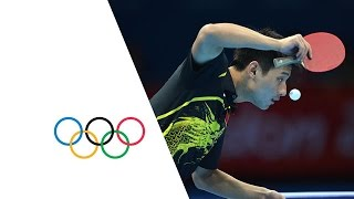 Men's Table Tennis Singles Gold Medal Match - China v China | London 2012 Olympics