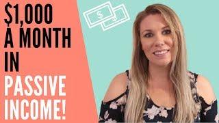 5 Passive Income Ideas that earn $1000+ per month