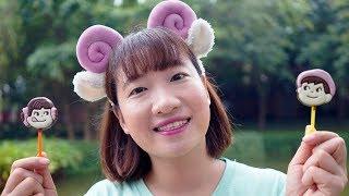 Chị Tuyết Tham Ăn – Dạy Bé Không Ăn Của Rơi ❤ BIBI TV ❤
