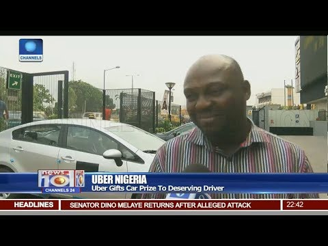 Uber Gifts Car Prize To Deserving Driver