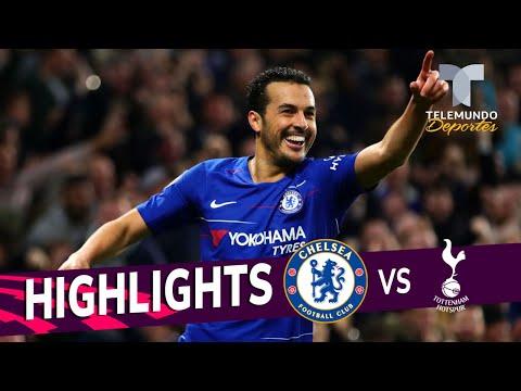 Chelsea vs. Tottenham: 2-0 Goals & Highlights | Premier League | Telemundo Deportes