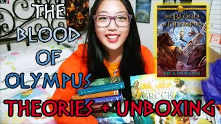 THE BLOOD OF OLYMPUS CLUE #6, THEORIES, & UNBOXING