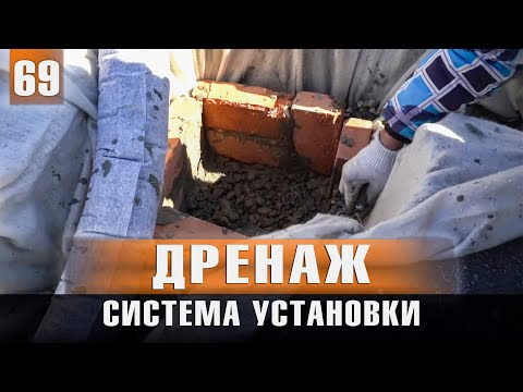 Дренажная система земельного участка