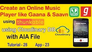 Iss video mein main dikhaunga kaise ek online music player app banate hai database k madat se. in this i will show you how to make an play...
