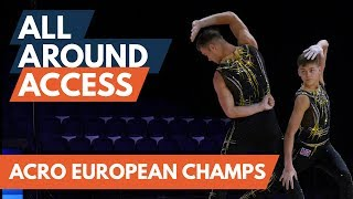 Behind the scenes at the 2019 Acrobatic European Championships