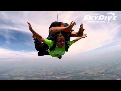 Colleen Adams's Tandem skydive!