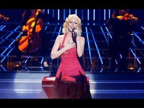 Tu cara me suena - Edurne imita a Christina Aguilera