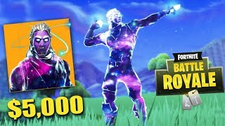 FORTNITE - A SKIN BUT RARA of 5 MIL REAIS!!! (GALAXY SKIN)