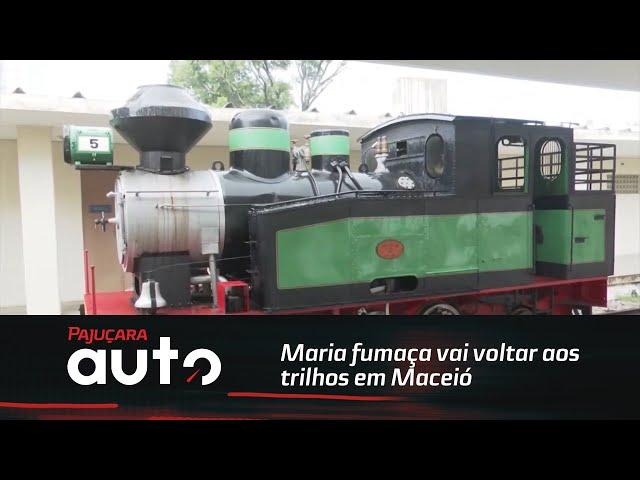 Atração turística: Maria fumaça vai voltar aos trilhos em Maceió